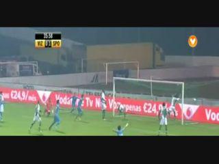 Vizela 2-3 Sporting CP - Golo de Talocha (37min)