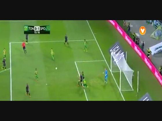01J :: Tondela - 1 x Sporting - 2 de 2015/2016