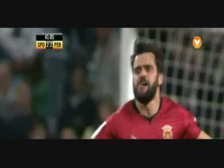 Sporting CP 3-2 Penafiel - Golo de Vítor Bruno (42min)