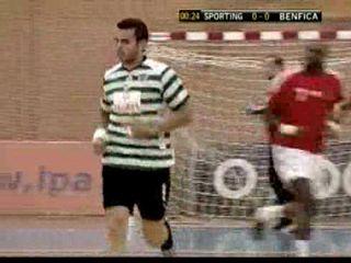 Andebol: Sporting 36-25 Benfica de 2008/2009