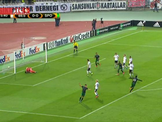 Besiktas - 1 x Sporting - 1 de 2015/2016 Liga Europa