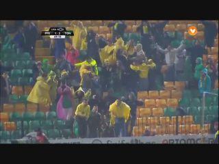 Paços de Ferreira 1-4 Tondela - Golo de Lucas Souza (70min)