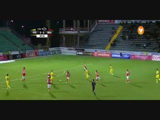 Paços de Ferreira 1-0 Sporting Braga - Golo de Diogo Jota (39min)