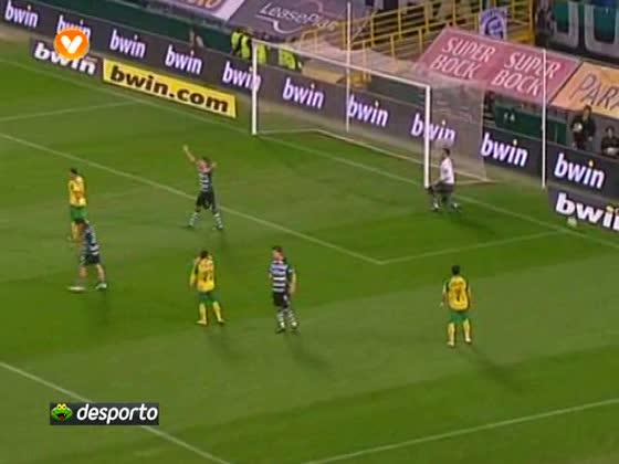 Sporting - 2 x Naval - 0 de 2010/2011 Taca Liga