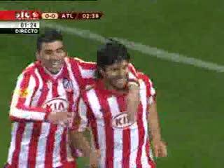 Sporting - 2 x Atletico Madrid - 2 de 2009/2010 Liga Europa