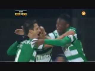 Arouca 1-3 Sporting CP - Golo de A. Carrillo (62min)