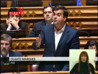 Duarte Marques no Debate sobre o abandono de estudantes do Ensino Superior