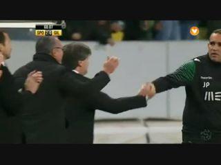Sporting CP 2-0 Gil Vicente - Golo de Nani (68min)