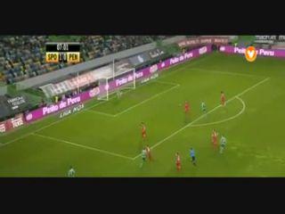 Sporting CP 3-2 Penafiel - Golo de I. Slimani (8min)