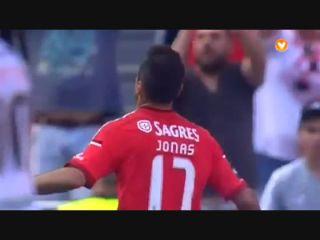 Benfica 4-0 Penafiel - Golo de Jonas (30min)