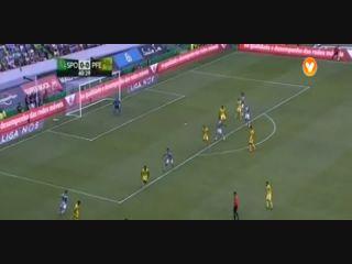 Sporting CP 1-1 Paços de Ferreira - Golo de A. Carrillo (41min)