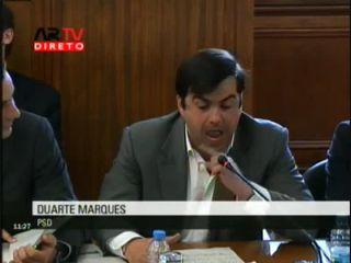 Duarte Marques questiona Isabel Alçada sobre a Parque Escolar