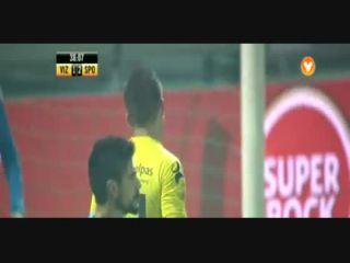 Vizela 2-3 Sporting CP - Golo de Paulo Oliveira (39min)