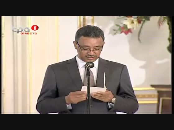 Presidente da República confere posse ao novo Ministro da Construção