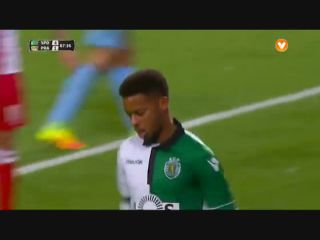 Sporting CP 5-1 Praiense - Golo de André (88min)