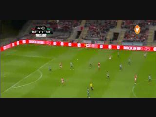 Sporting Braga 3-2 Vitória Setúbal - Golo de Rafa Silva (6min)
