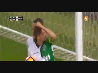 Sporting CP 5-1 Praiense - Golo de Adrien Silva (47min)