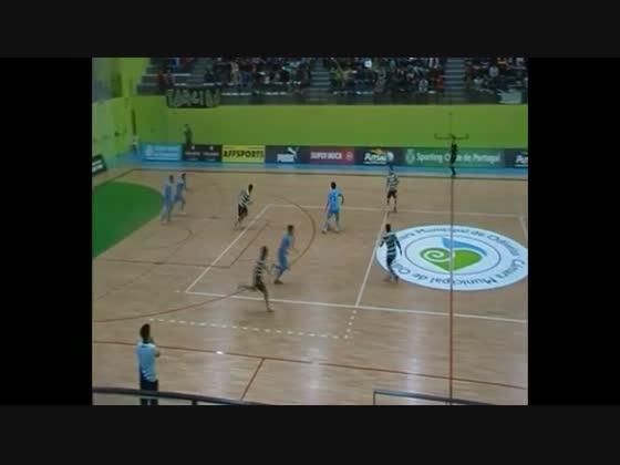 Futsal :: 14J :: Sporting - 11 x Piratas de Creixomil - 3 de 2012/2013