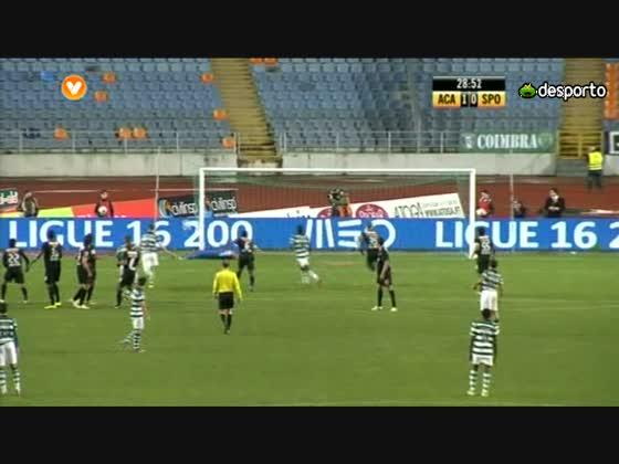 22 J :: Académica - 1 x Sporting - 1 de 2012/2013