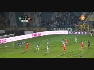 Vitória Setúbal 2-4 Benfica - Golo de Pizzi (35min)