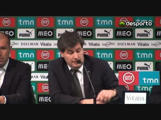 Apresentação de Leonardo Jardim, novo treinador do Sporting