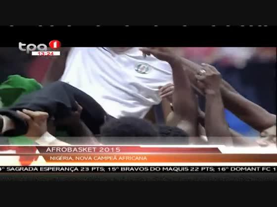 Angola perde a final do Afrobasket 2015 diante da Nigéria (65 - 74)