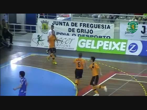 Futsal playoff 1/4 (jogo1) - Modicus(2) x Sporting(6) - 12/13 Resumo