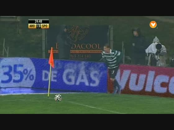 16J :: Arouca - 1 x Sporting - 2 de 2013/2014