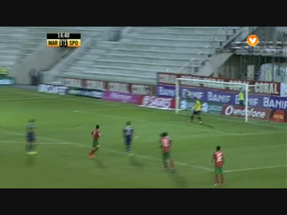 24J :: Marítimo - 1 x Sporting - 3 de 2013/2014