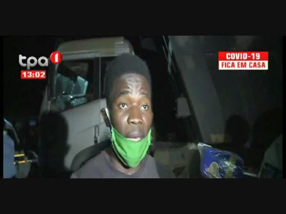 Violação a restrição de circulação - 34 Cidadãos detidos