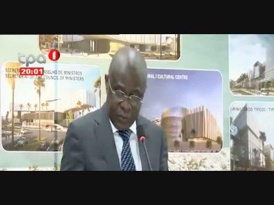 Bairro dos Ministérios vai nascer na Nova Marginal de Luanda