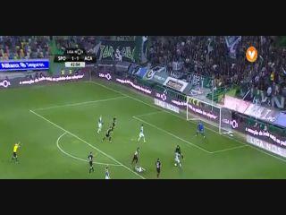 Sporting CP 3-2 Académica - Golo de B. Ruiz (43min)