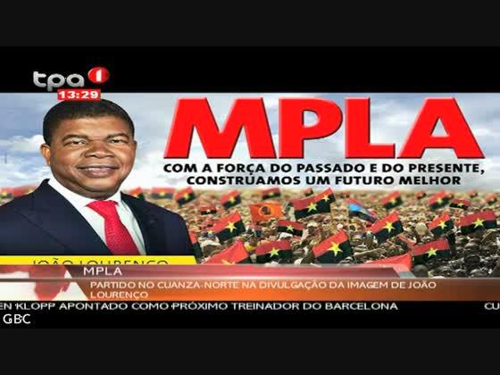"""MPLA """"Divulgação da imagem de João Lourenço"""" Cuanza-Norte"""