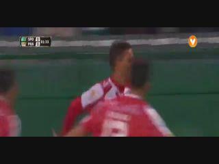 Sporting CP 5-1 Praiense - Golo de Filipe Andrade (2min)