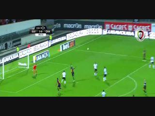 Vitória Guimarães 3-2 Chaves - Golo de Willian (80min)
