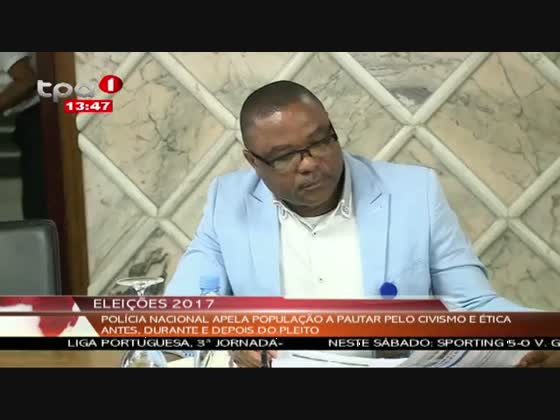Polícia nacional registou 49 infracções durante a campanha eleitoral