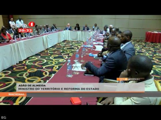 Autarquias - técnicos dos orgãos centrais e provinciais reforçam os Municipio