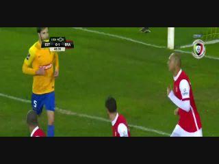 Estoril 0-6 Sporting Braga - Golo de Paulinho (44min)