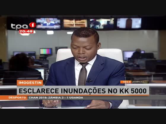 IMOGESTIN esclarece inundações no KK 5000