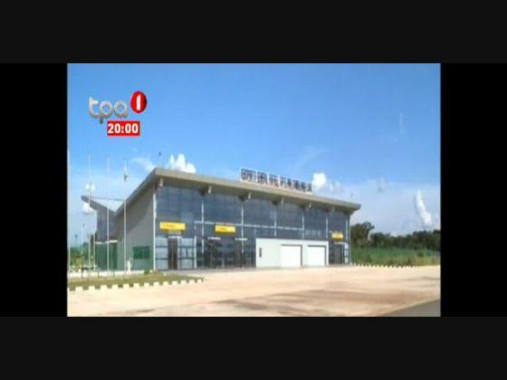 Aeroporto do Luau inoperante desde que foi inaugurado há 4 anos
