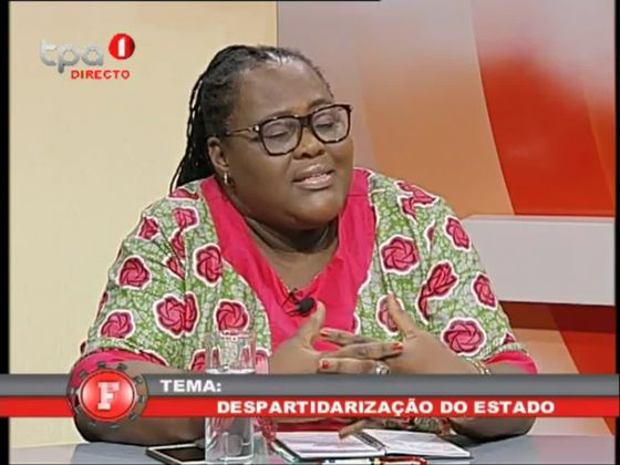 Despartidarização do Estado - Luísa Rogério