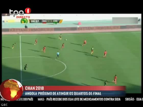 """Angola próximo de atingir os quartos-de-final """"CAN 2018"""""""