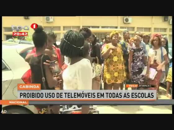 Cabinda - Proibido uso de telemóveis em todas as escolas