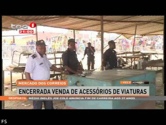 Mercado dos Correios - encerrada venda de acessórios de viaturas