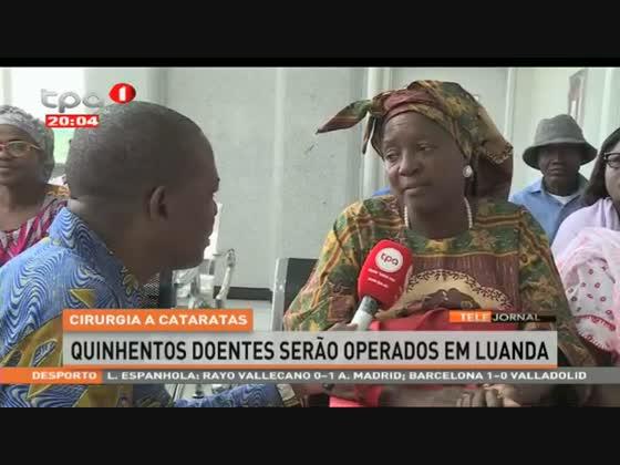 Cirurgia a cataratas - 500 doentes serão operados em Luanda