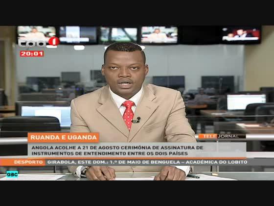 """Angola acolhe a 21 de Agosto cerimónia de assinatura """"Ruanda e Uganda"""""""
