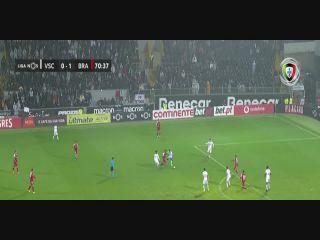 Vitoria Guimaraes 0-2 Sporting Braga - Golo de Galeno (71min)