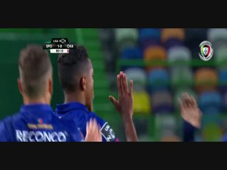 Sporting CP 2-1 Chaves - Golo de Niltinho (81min)