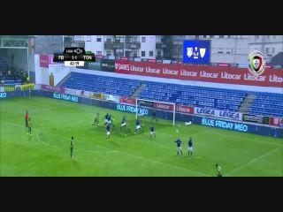 Resumo: Feirense 2-4 Tondela ()