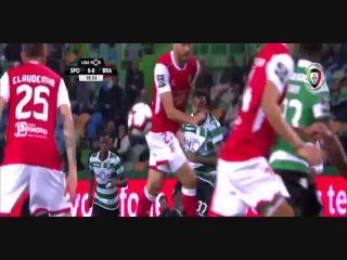 Resumo: Sporting CP 3-0 Sporting Braga (17 Fevereiro 2019)